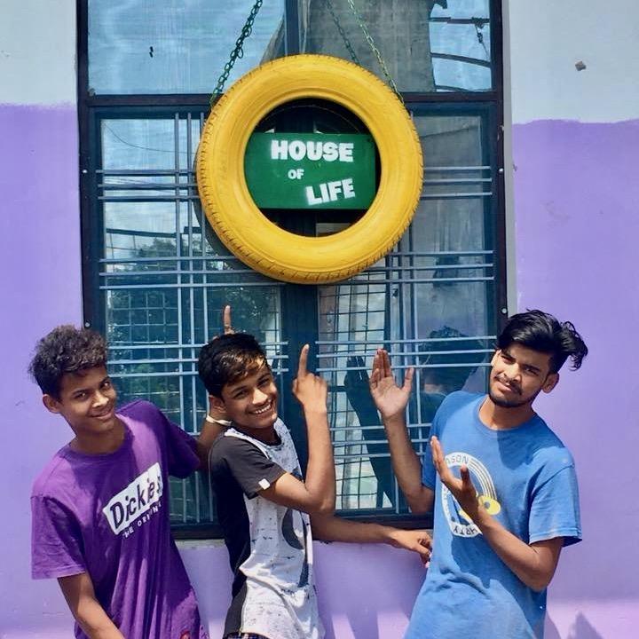 «Дом Жизни - Для мальчиков, спасённых от торговли людьми
